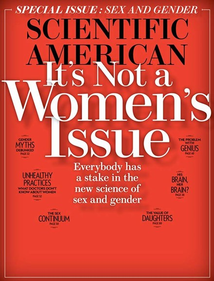 Scientific American Cover - 9/1/2017