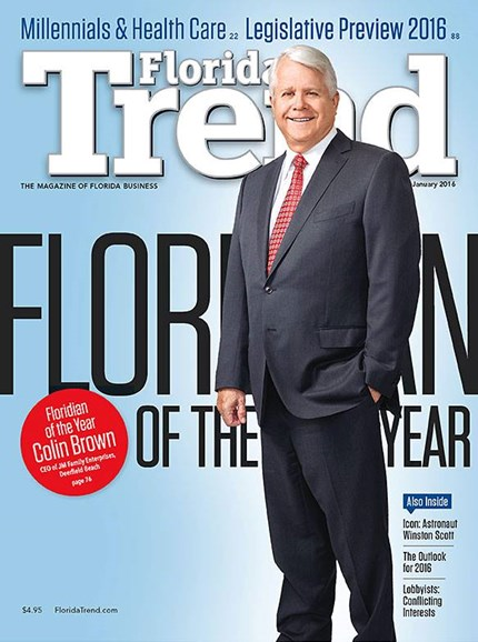 Florida Trend Cover - 1/1/2016