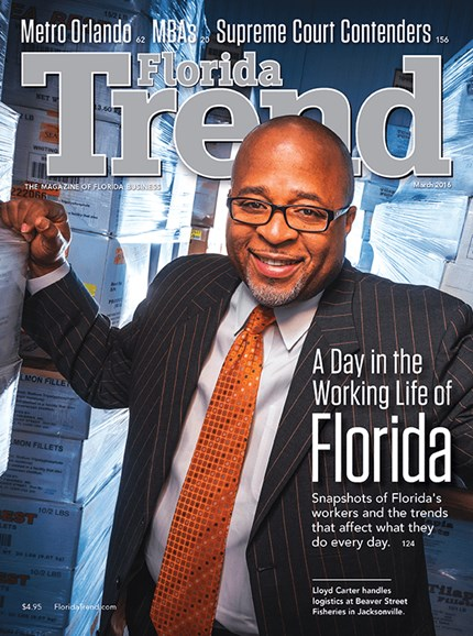 Florida Trend Cover - 3/1/2016