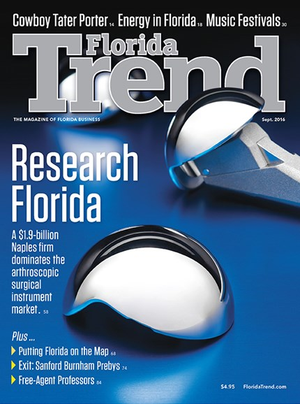Florida Trend Cover - 9/1/2016