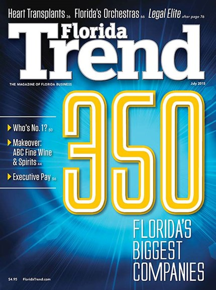 Florida Trend Cover - 7/1/2015