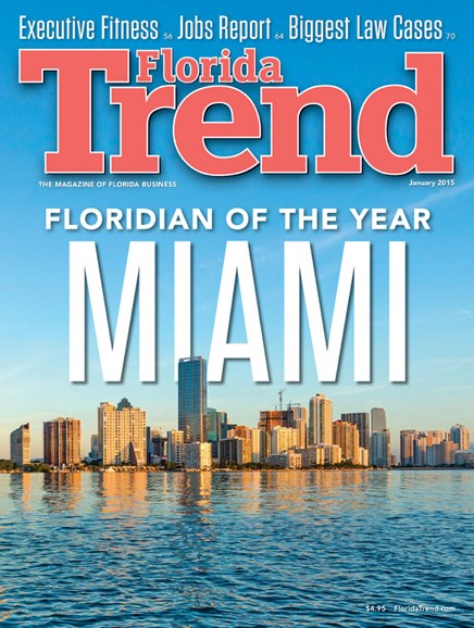 Florida Trend Cover - 1/1/2015