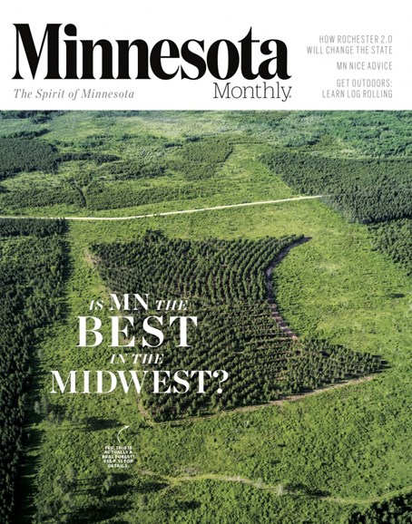 Minnesota Monthly Cover - 8/1/2017