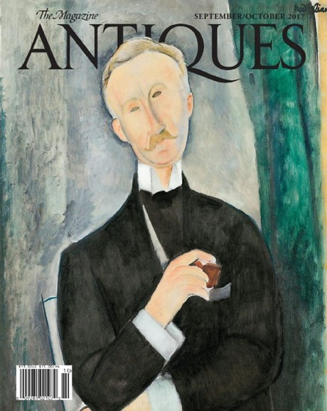 The Magazine Antiques Cover - 9/1/2017