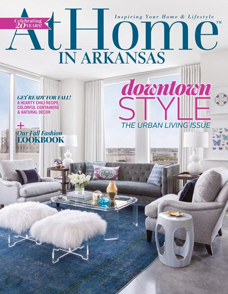 At Home In Arkansas Cover - 10/1/2017