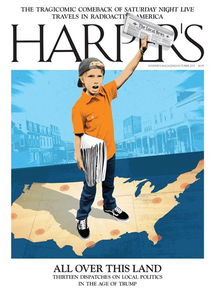 Harper's Cover - 10/1/2017