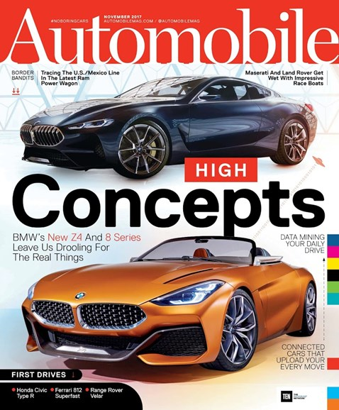 Automobile Cover - 11/1/2017