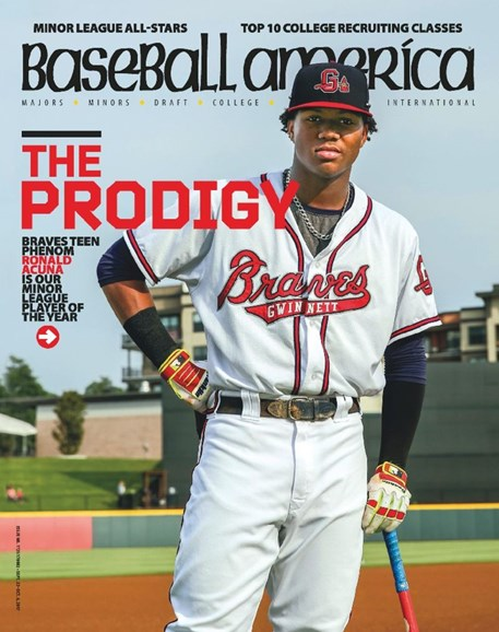 Baseball America Cover - 9/22/2017