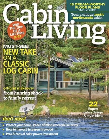 Cabin Living Cover - 10/1/2017