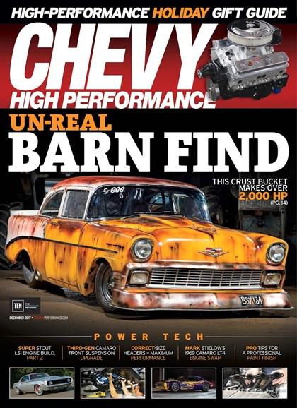 Chevy High Performance Cover - 12/1/2017