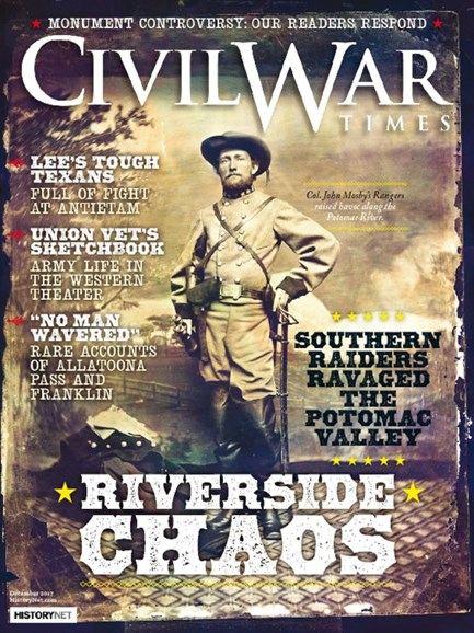 Civil War Times Cover - 12/1/2017