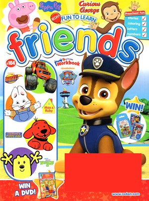 Preschool Friends Magazine | 7/1/2017 Cover