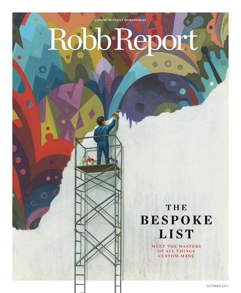 Robb Report Cover - 10/1/2017