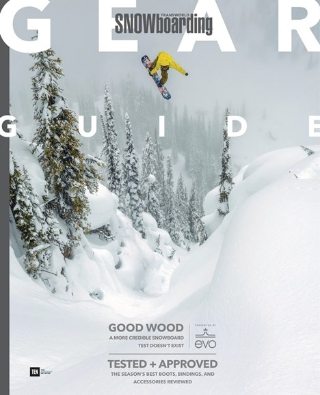 Transworld SNOWboarding Cover - 9/1/2017