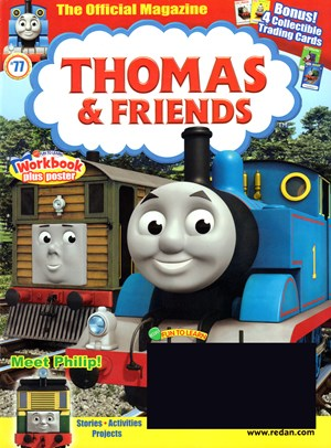 Thomas & Friends Magazine | 7/1/2017 Cover