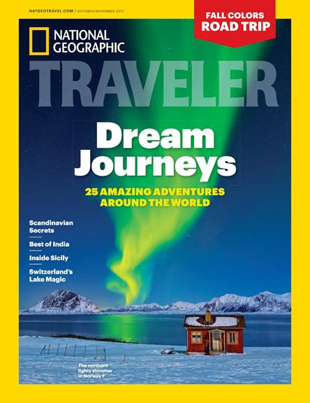 National Geographic Traveler Cover - 10/1/2017