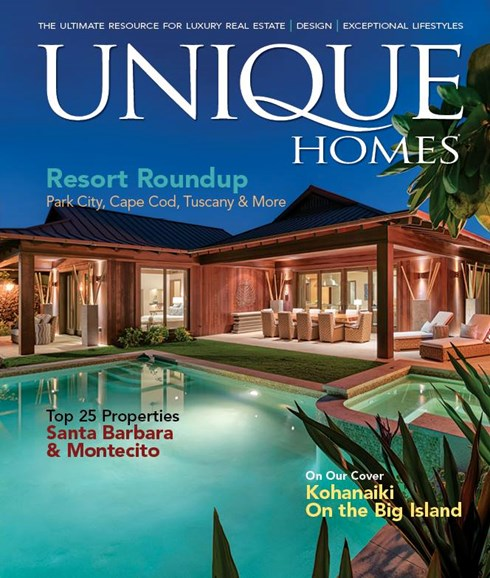 Unique Homes Cover - 9/1/2017