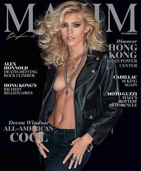 Maxim Cover - 10/1/2017