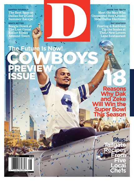 D Magazine Cover - 8/1/2017