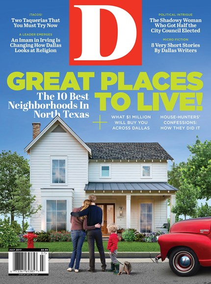 D Magazine Cover - 7/1/2017
