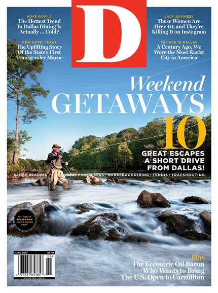 D Magazine Cover - 6/1/2017