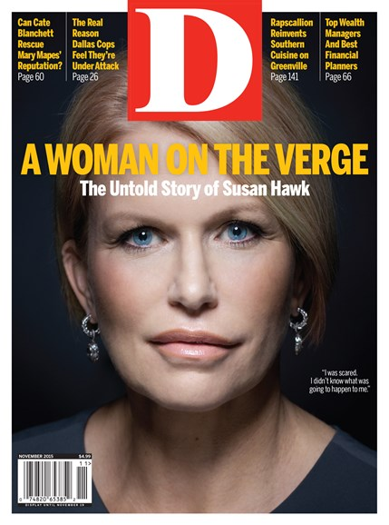 D Magazine Cover - 11/1/2015