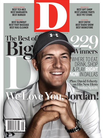 D Magazine Cover - 8/1/2015