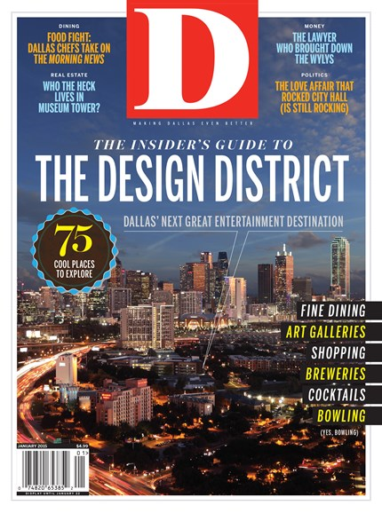 D Magazine Cover - 1/1/2015