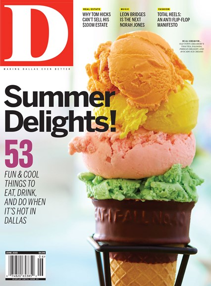 D Magazine Cover - 6/1/2015