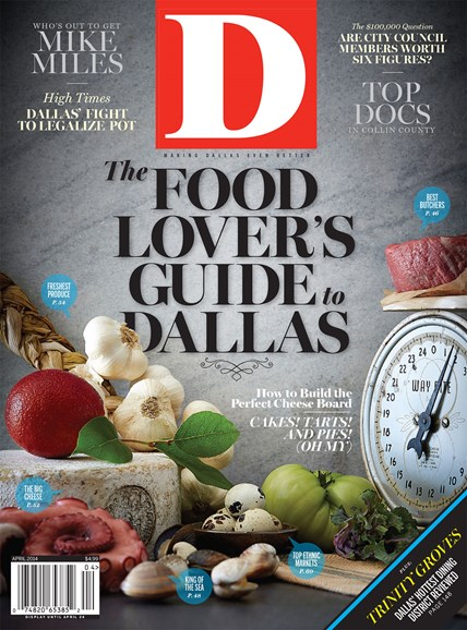 D Magazine Cover - 4/1/2014