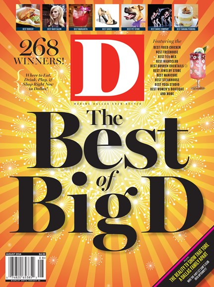 D Magazine Cover - 8/1/2014