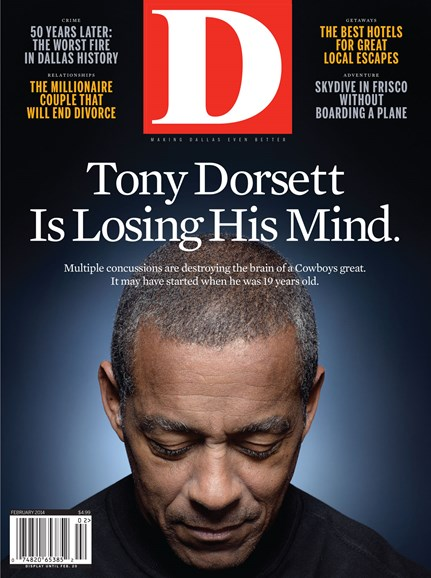D Magazine Cover - 2/1/2014