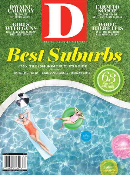 D Magazine Cover - 7/1/2014