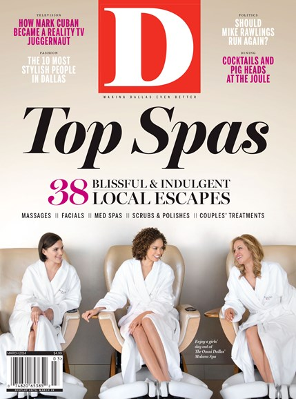 D Magazine Cover - 3/1/2014