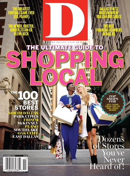 D Magazine Cover - 11/1/2014