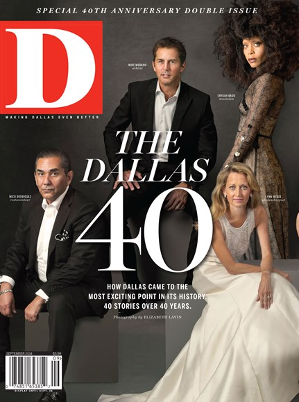 D Magazine Cover - 9/1/2014