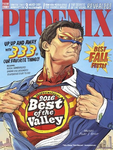 Phoenix Magazine Cover - 10/1/2016