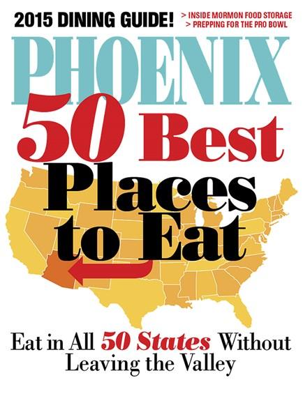 Phoenix Magazine Cover - 1/1/2015