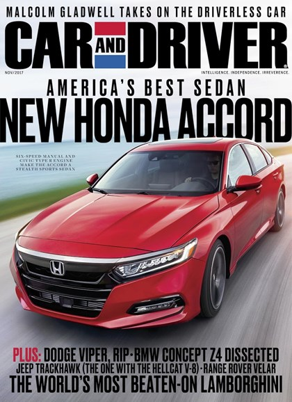 Car And Driver Cover - 11/1/2017