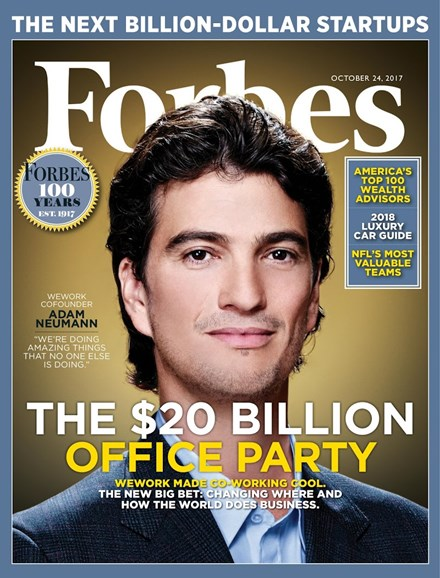 Forbes Cover - 10/24/2017