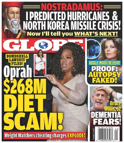 Globe Cover - 10/2/2017