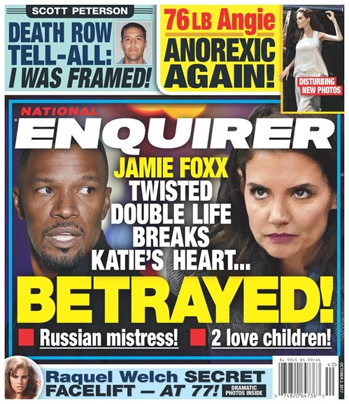 National Enquirer Cover - 10/2/2017