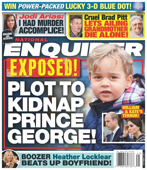 National Enquirer Cover - 10/9/2017