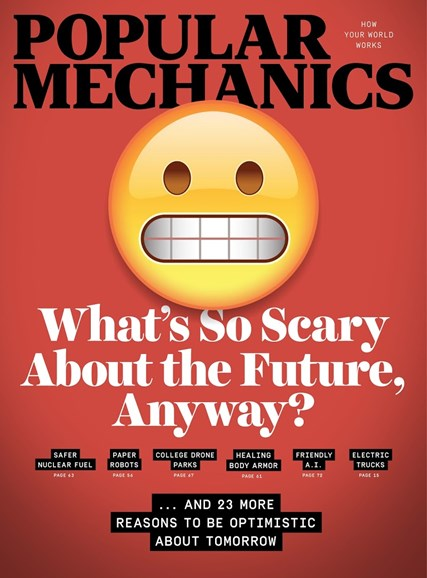 Popular Mechanics Cover - 11/1/2017