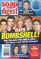 Soap Opera Digest Magazine 10/9/2017