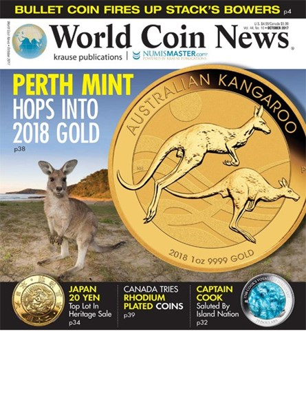 World Coin News Cover - 10/1/2017