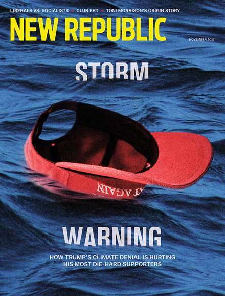 The New Republic Cover - 11/1/2017