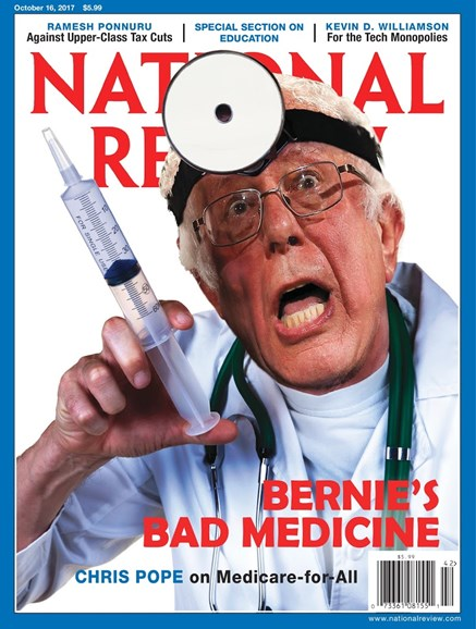 National Review Cover - 10/16/2017