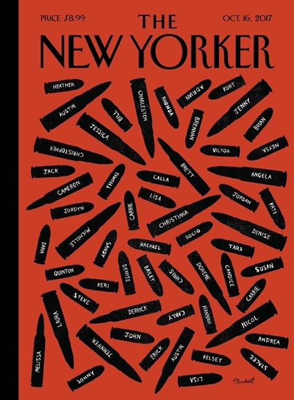 The New Yorker Cover - 10/16/2017