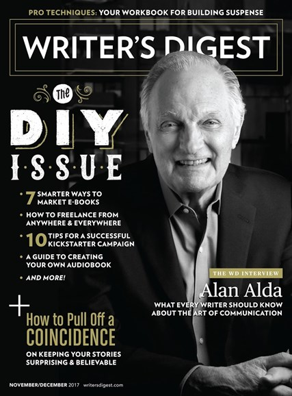 Writer's Digest Cover - 11/1/2017